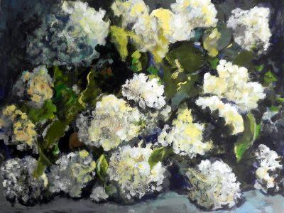Tableau hortensias 2 - Sibylle du Peloux